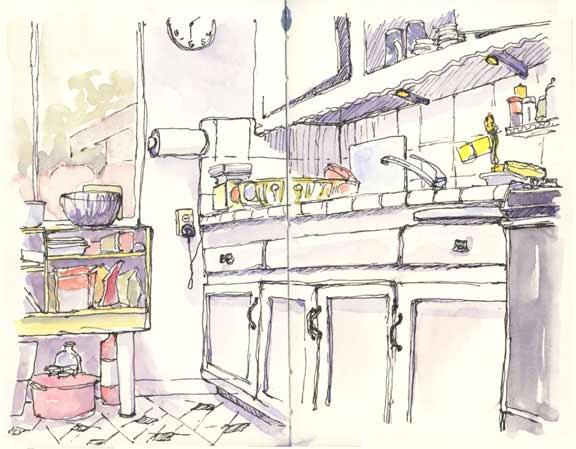 In The Kitchen Kitchen Sketch