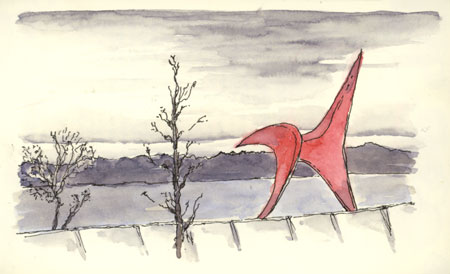 sketch_seattle_calder_sculpture