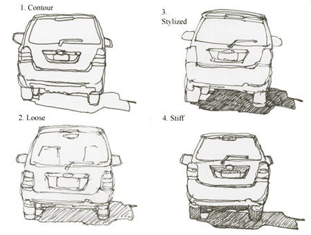sketches_car