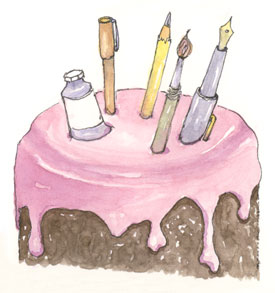 sketch_birthday_cake