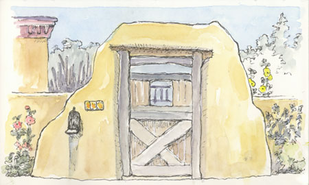 sketch_santa_fe-gate_canyon_road