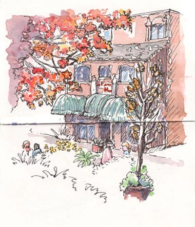 sketch_berkeley_french_hotel